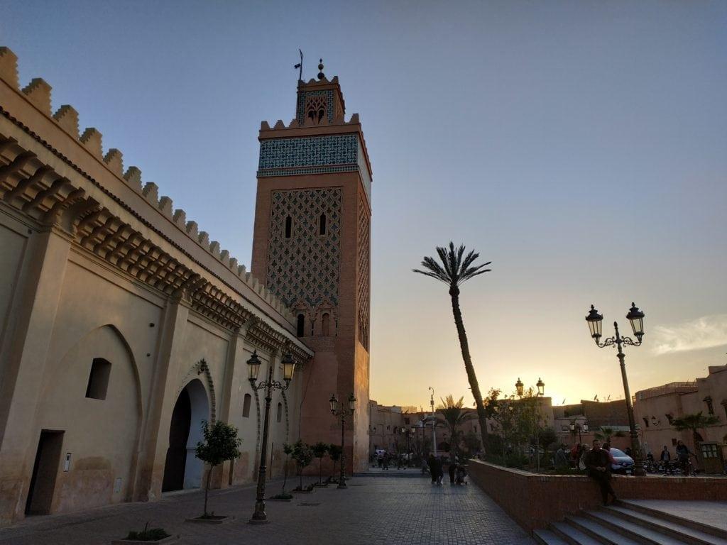 kasbah mosque in marrakech - Morocco