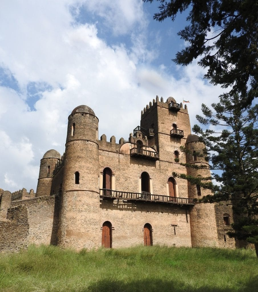Visit Ethiopia for its medieval castles