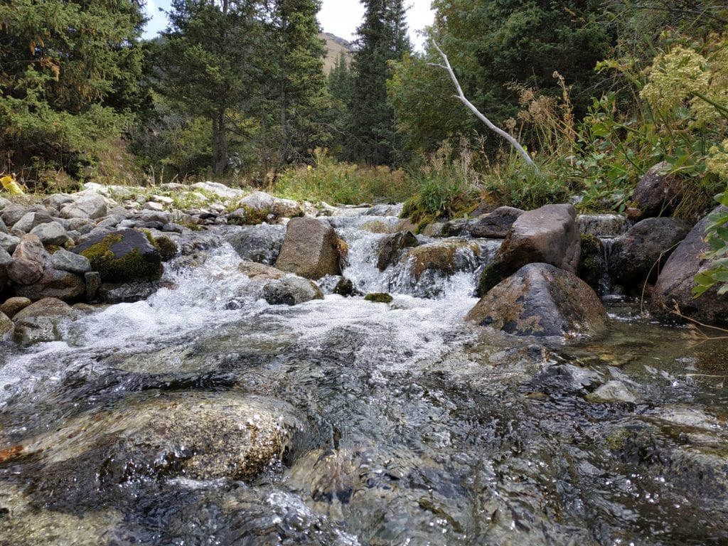 rivière à traverser