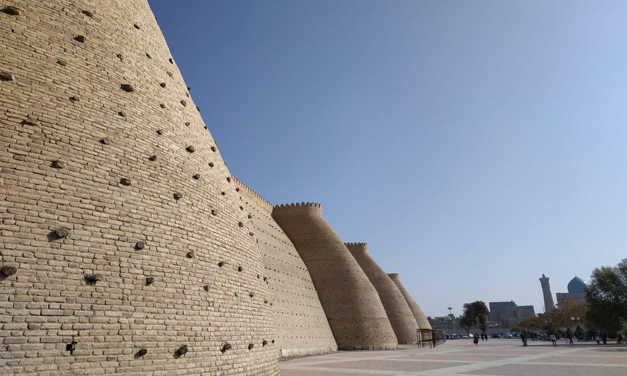 remparts de la forteresse de Boukhara
