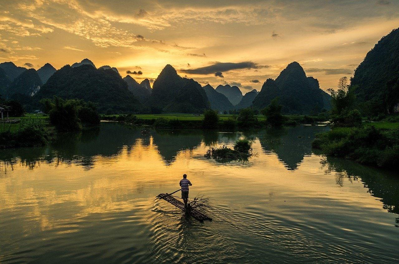 Province de Cao Bang au Vietnam