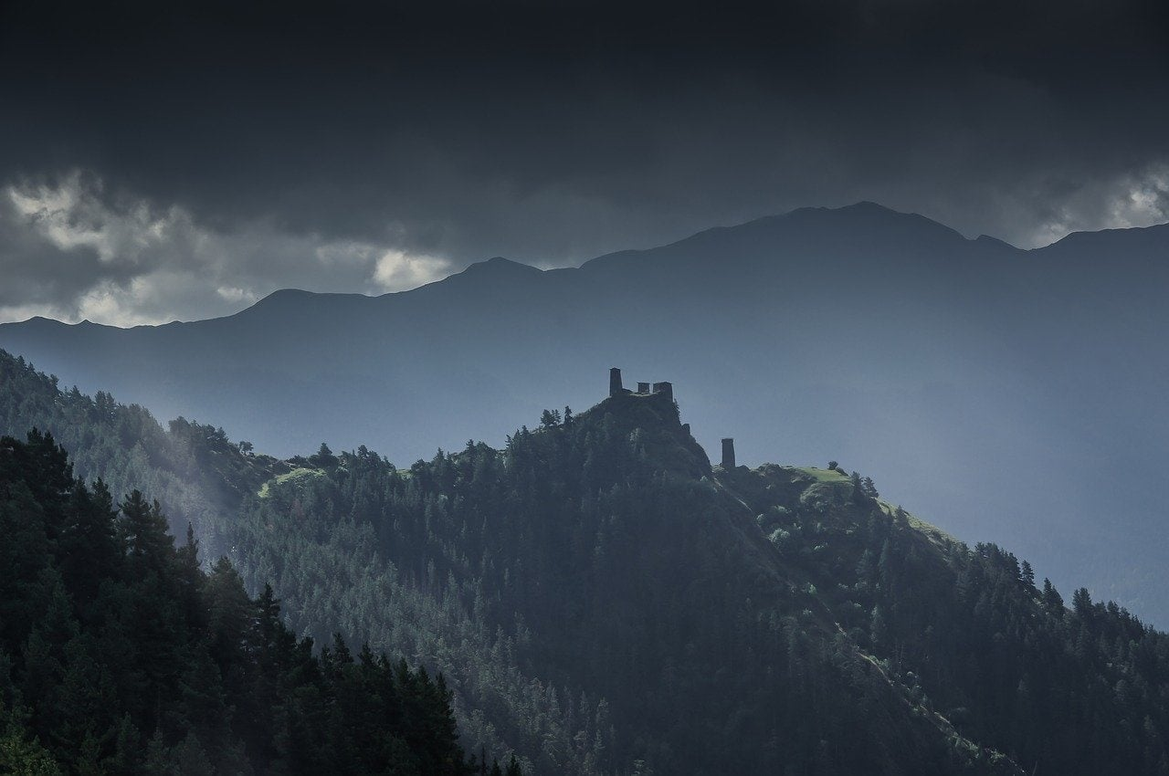 forteresse en géorgie