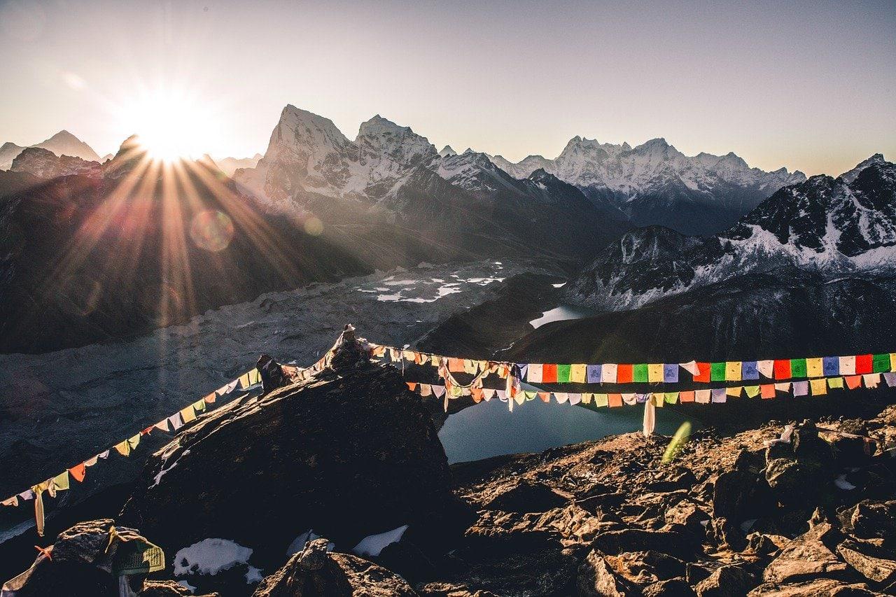 gokyo ri au népal