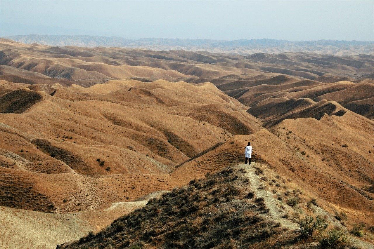 Désert du Golestan en Iran