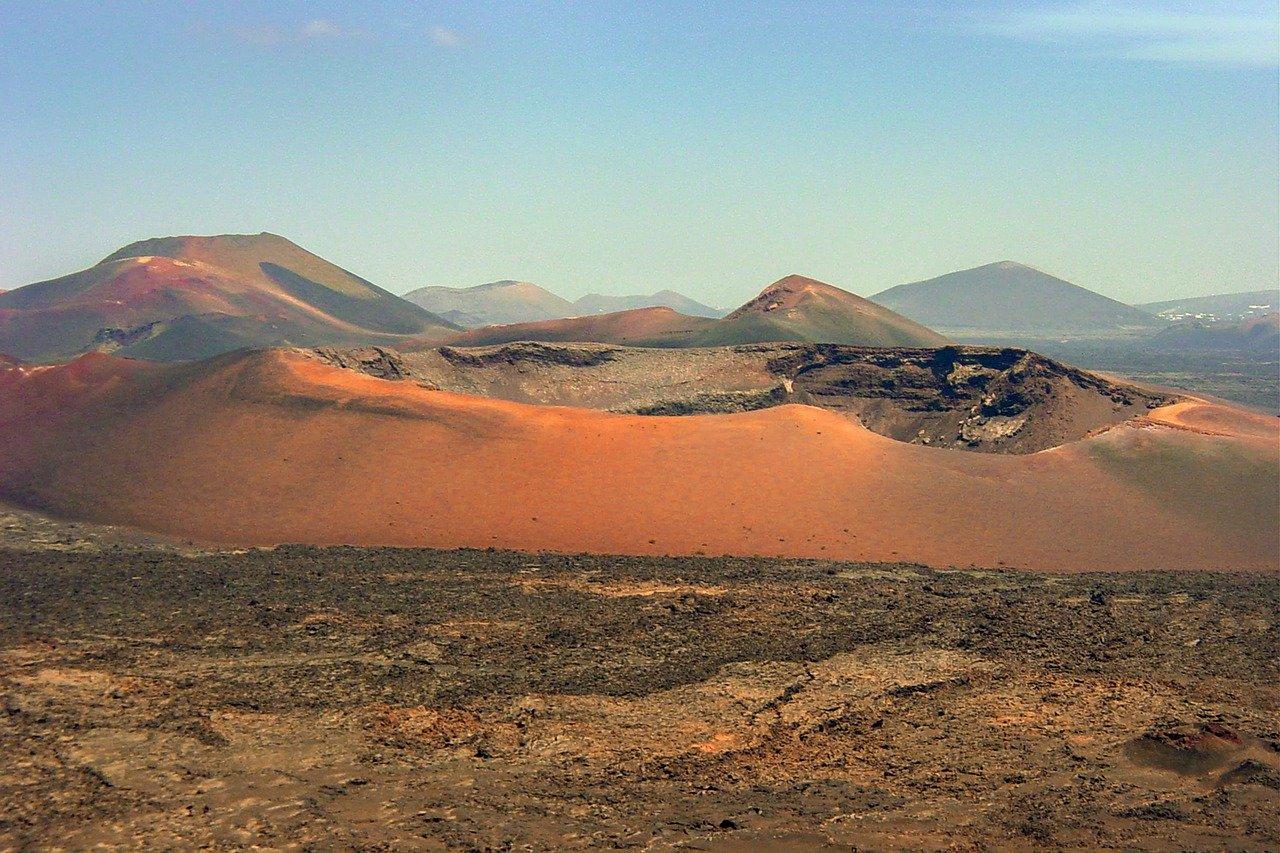 Paysage volcanique à Lanzarote