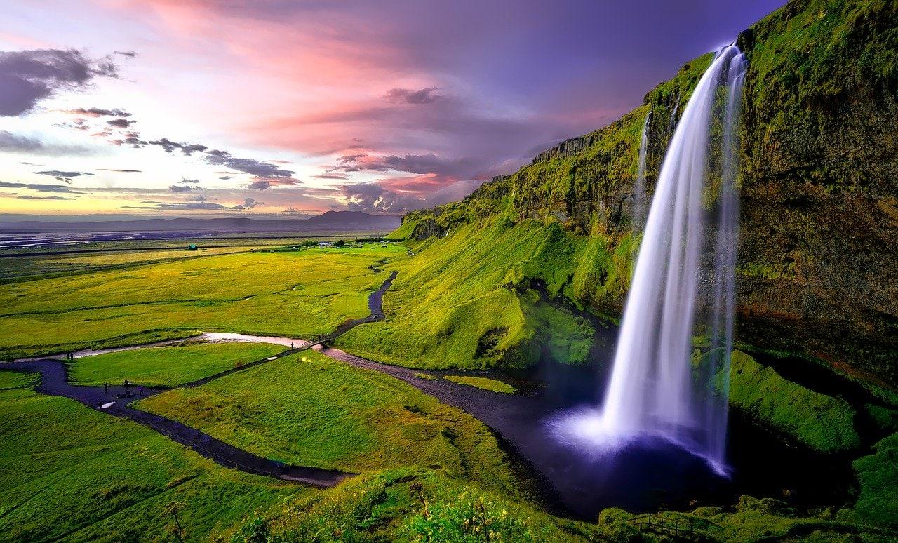 seljalandsfoss en Islande