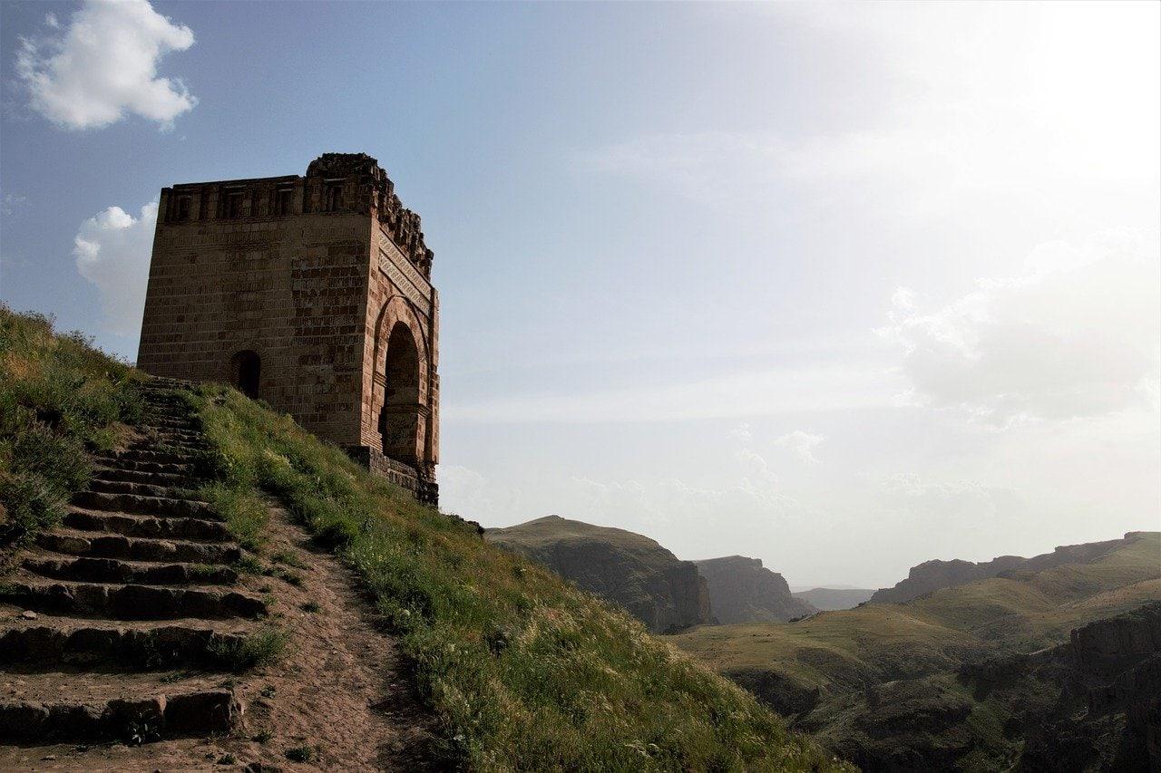 Chateau de Zahhak en Azerbaidjan