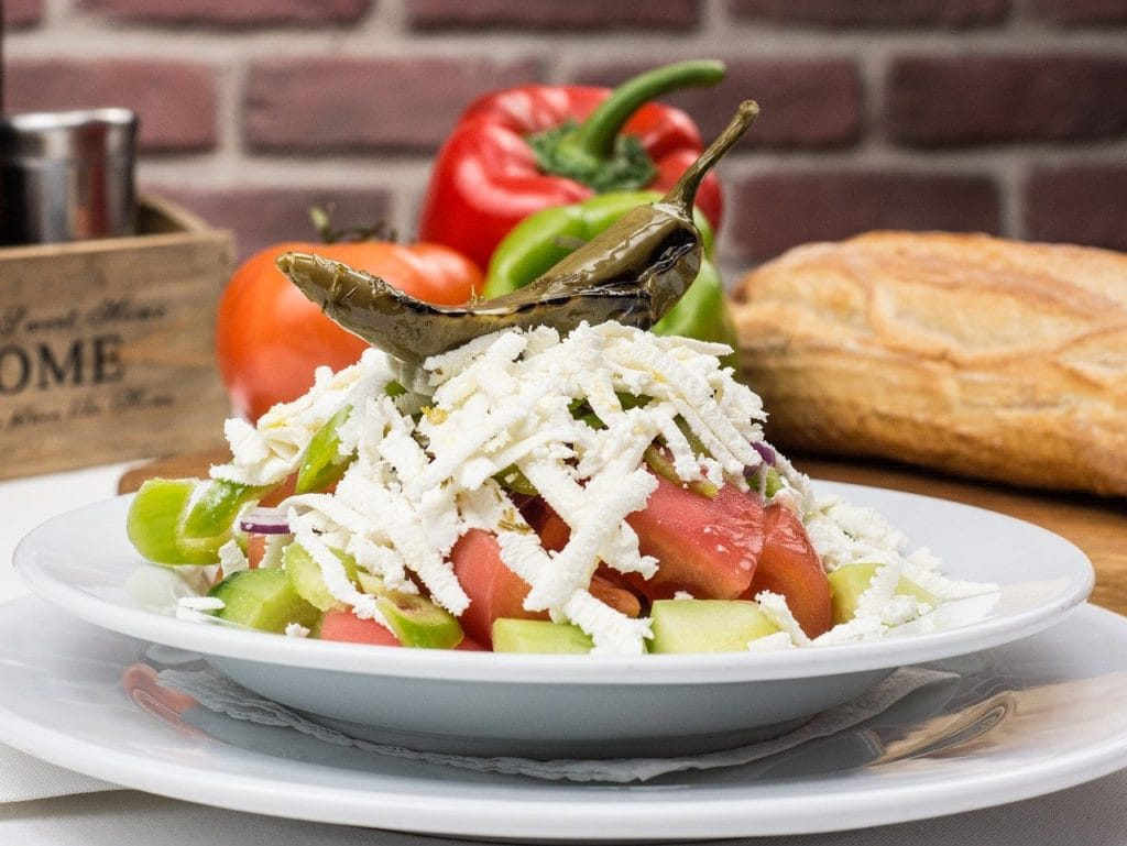 salade bulgare traditionnelle