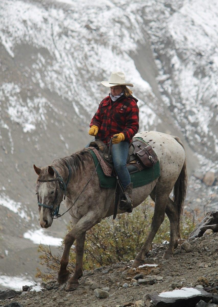 Cowgirl au Canada