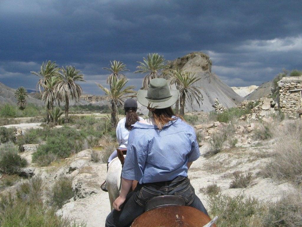 Randonnée à cheval dans l'almeria