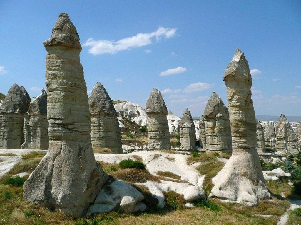 Cheminées de fée de la Cappadoce en Turquie