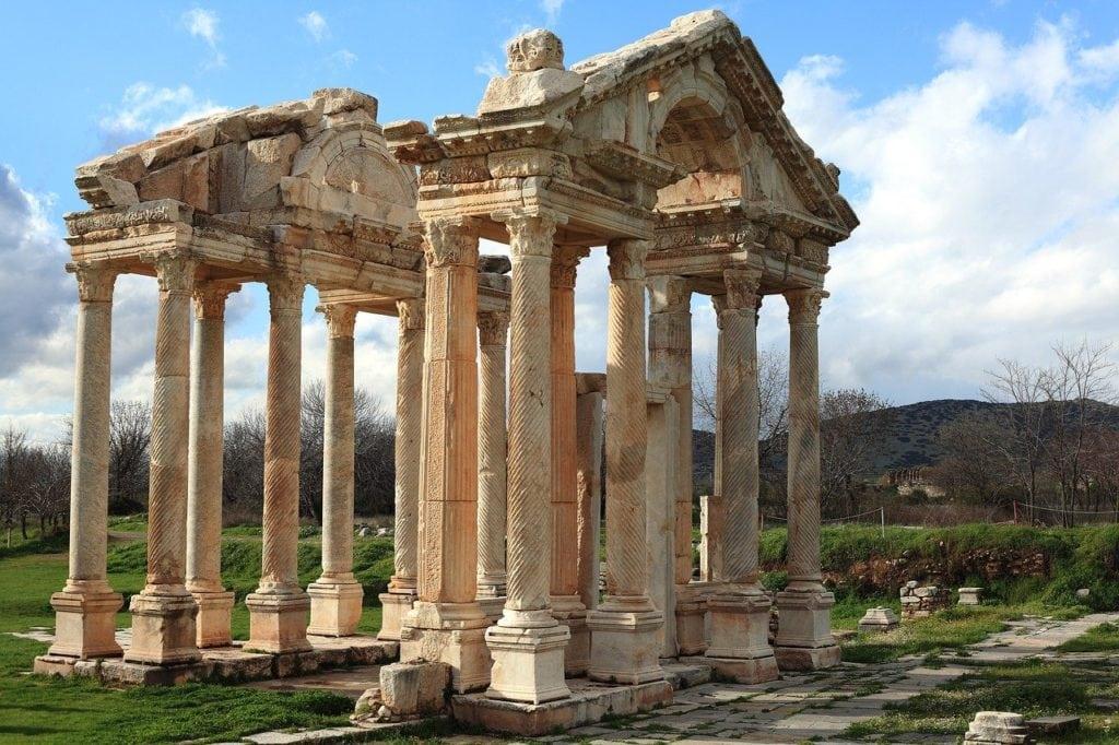 ruine de temple à Izmir