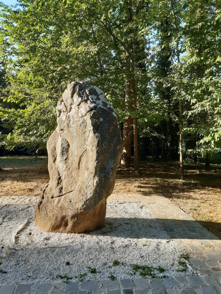 menhir of the stone in Mousseau