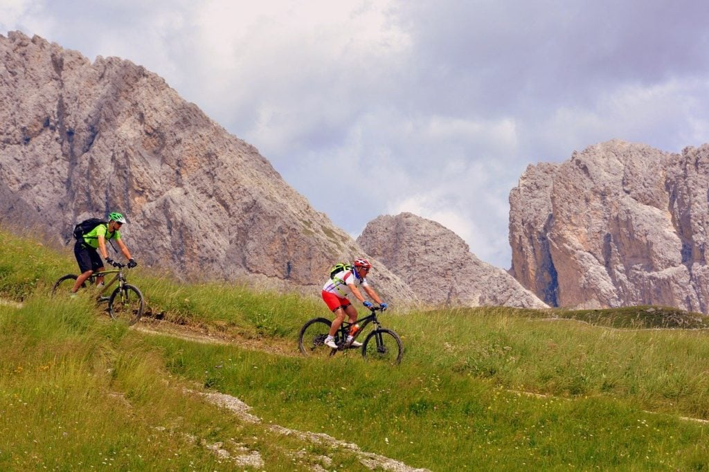 Cycling tour in the dolomites