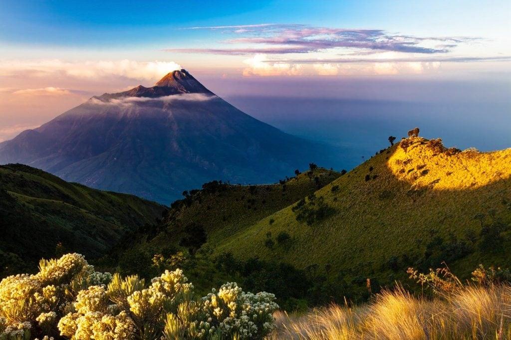 Java Landscape in Indonesia