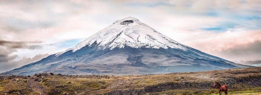 climb the Cotopaxi volcano in equator