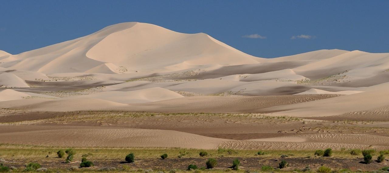 Trekking dans le désert de Gobi