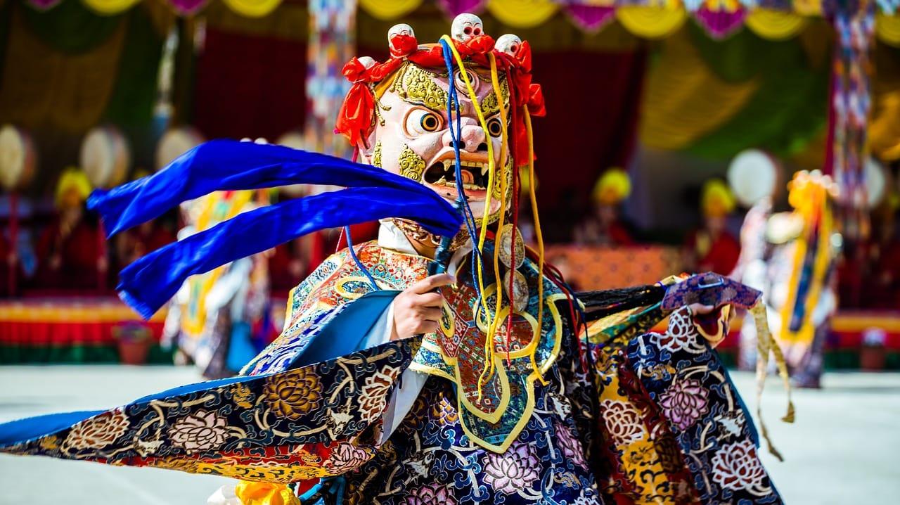 Festival et Danse au Népal